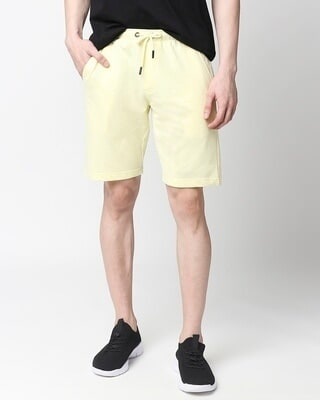 Shop Vax Yellow Casual Short-Front