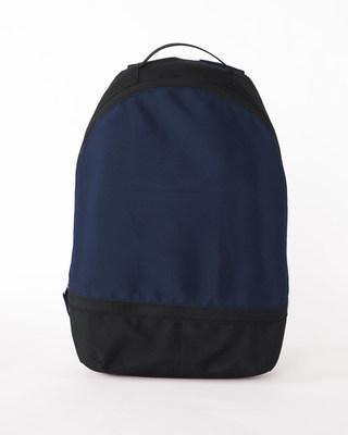 Shop Vector Blue-Michigan Black Plain Essential Mini Backpack-Front