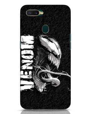 Shop Venom Grunge Oppo A7 Mobile Cover (SPL)-Front