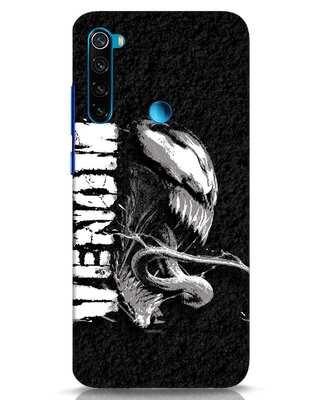 Shop Venom Grunge Xiaomi Redmi Note 8 Mobile Cover (SPL)-Front