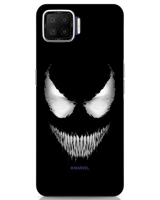 Shop Venom Oppo F17 Mobile Cover (SPL)-Front