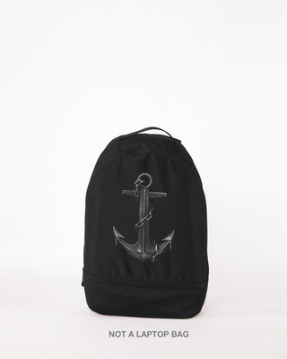 Shop Vintage Anchor Small Backpack-Front