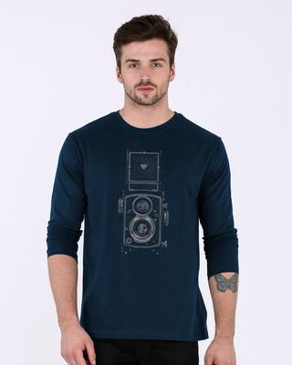 Buy Vintage Click Full Sleeve T-Shirt Online India @ Bewakoof.com