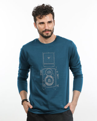 Shop Vintage Click Full Sleeve T-Shirt-Front
