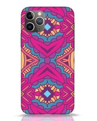 Shop Vintage Doodle Art iPhone 11 Pro Mobile Cover-Front