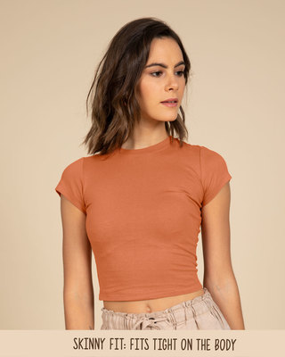 7b20b05e17bba1 Crop Tops - Buy Crop Tops for Women at Rs.249 - Bewakoof.com