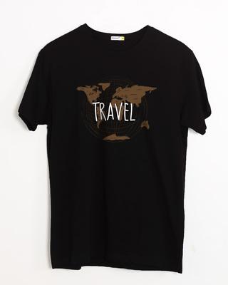 Buy Vintage Travel Half Sleeve T-Shirt Online India @ Bewakoof.com