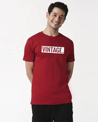 Shop Mojotrack Vintage Unisex Half T-Shirt-Front
