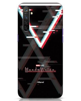 Shop Wandavision Logo Realme 6 Mobile Cover-Front