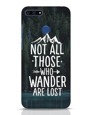 Shop Wanderer Huawei Honor 7A Mobile Cover-Front