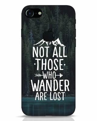 Shop Wanderer iPhone 7 Logo Cut Mobile Cover-Front