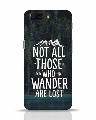 Shop Wanderer OnePlus 5T Mobile Cover-Front