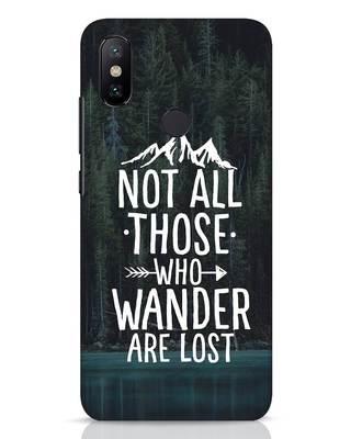 Shop Wanderer Xiaomi Mi A2 Mobile Cover-Front