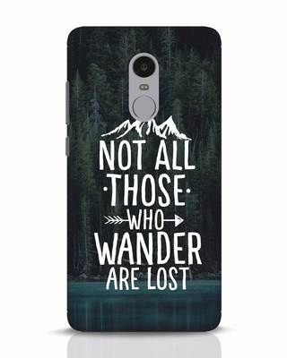 Shop Wanderer Xiaomi Redmi Note 4 Mobile Cover-Front