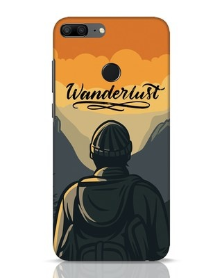 Shop Wanderlust Man Huawei Honor 9 Lite Mobile Cover-Front