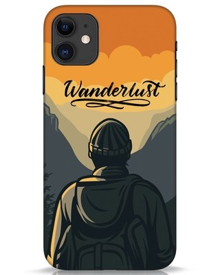 Shop Wanderlust Man iPhone 11 Mobile Cover-Front