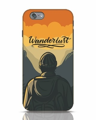 Shop Wanderlust Man iPhone 6s Mobile Cover-Front