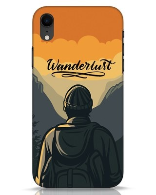 Shop Wanderlust Man iPhone XR Mobile Cover-Front