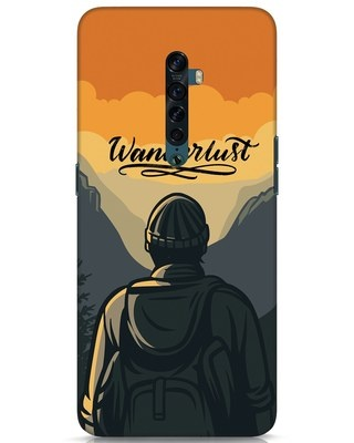Shop Wanderlust Man Oppo Reno 2 Mobile Cover-Front