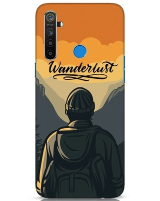 Shop Wanderlust Man Realme 5 Mobile Cover-Front