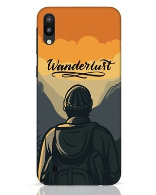 Shop Wanderlust Man Samsung Galaxy M10 Mobile Cover-Front