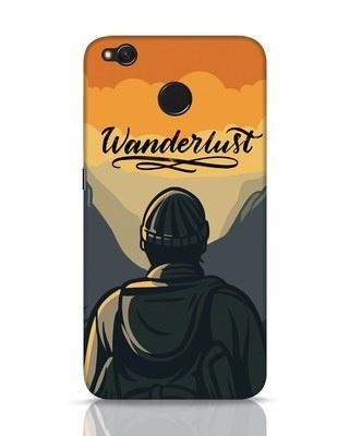 Shop Wanderlust Man Xiaomi Redmi 4 Mobile Cover-Front