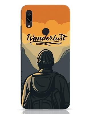 Shop Wanderlust Man Xiaomi Redmi Note 7 Mobile Cover-Front