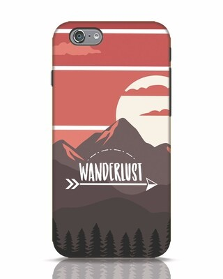 Shop Wanderlust Mountains iPhone 6s Mobile Cover-Front