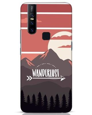 Shop Wanderlust Mountains Vivo V15 Mobile Cover-Front