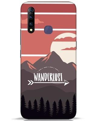 Shop Wanderlust Mountains Vivo Z1 Pro Mobile Cover-Front