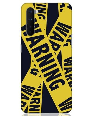 Shop Warning Tresspasser OnePlus Nord Mobile Cover-Front