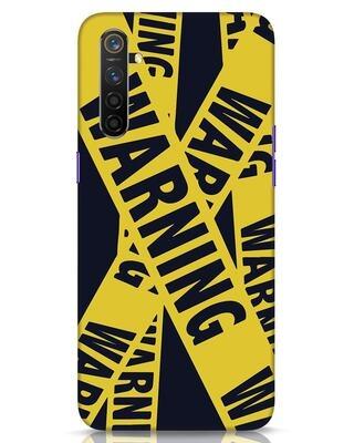 Shop Warning Tresspasser Realme 6 Mobile Cover-Front