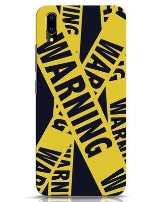 Shop Warning Tresspasser Vivo V11 Pro Mobile Cover-Front