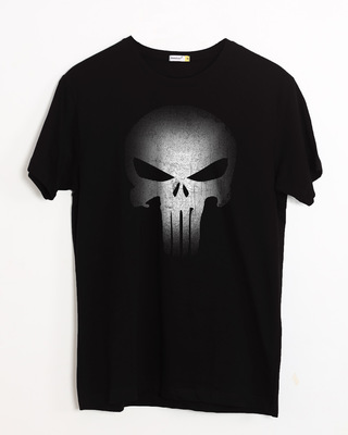 Buy Warrior Punisher Half Sleeve T-Shirt Online India @ Bewakoof.com