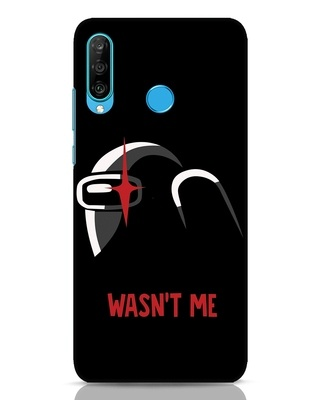 Shop Wasnt Me Huawei P30 Lite Mobile Cover-Front