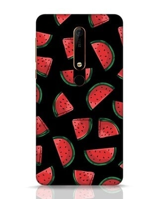 Shop Watermelons Nokia 6.1 Mobile Cover-Front