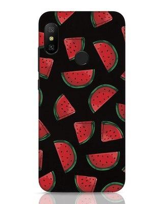 Shop Watermelons Xiaomi Redmi 6 Pro Mobile Cover-Front