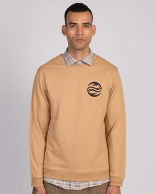 Shop Wave Reflect Fleece Sweaters-Front