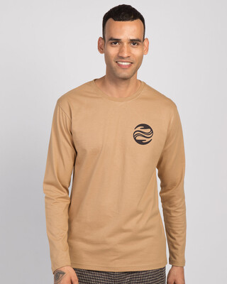 Shop Wave Reflect Full Sleeve T-Shirt-Front