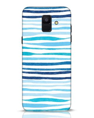 Shop Waves Samsung Galaxy A6 2018 Mobile Cover-Front