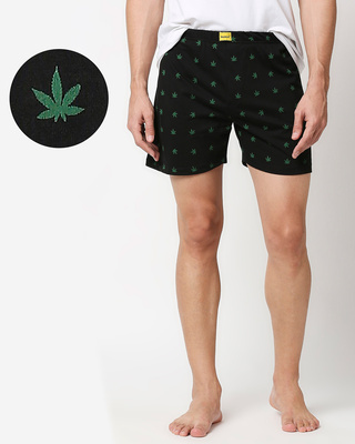 Shop Weed Life Boxer AOP-Front