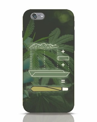 Shop Weed Math iPhone 6 Mobile Cover-Front