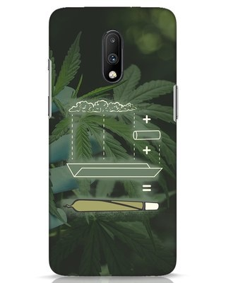 Shop Weed Math OnePlus 7 Mobile Cover-Front