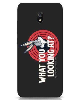 Shop What You Lookin At Xiaomi Redmi 8A Mobile Cover (LTL)-Front