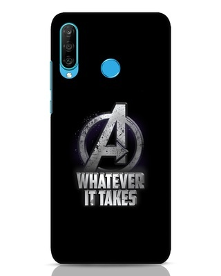 Shop Whatever It Takes Huawei P30 Lite Mobile Cover-Front