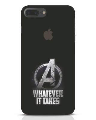 Shop Whatever It Takes iPhone 7 Plus Logo Cut Mobile Cover-Front