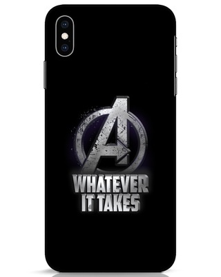 Shop Whatever It Takes iPhone XS Max Mobile Cover-Front