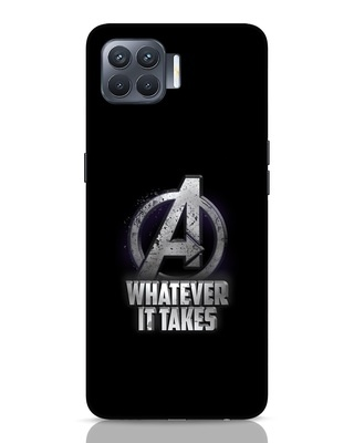 Shop Whatever It Takes Oppo F17 Pro Mobile Cover-Front
