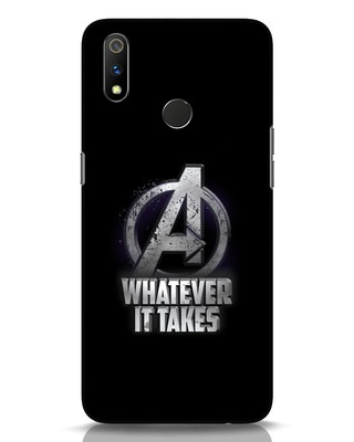 Shop Whatever It Takes Realme 3 Pro Mobile Cover-Front