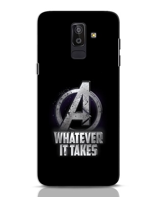 Shop Whatever It Takes Samsung Galaxy J8 Mobile Cover-Front